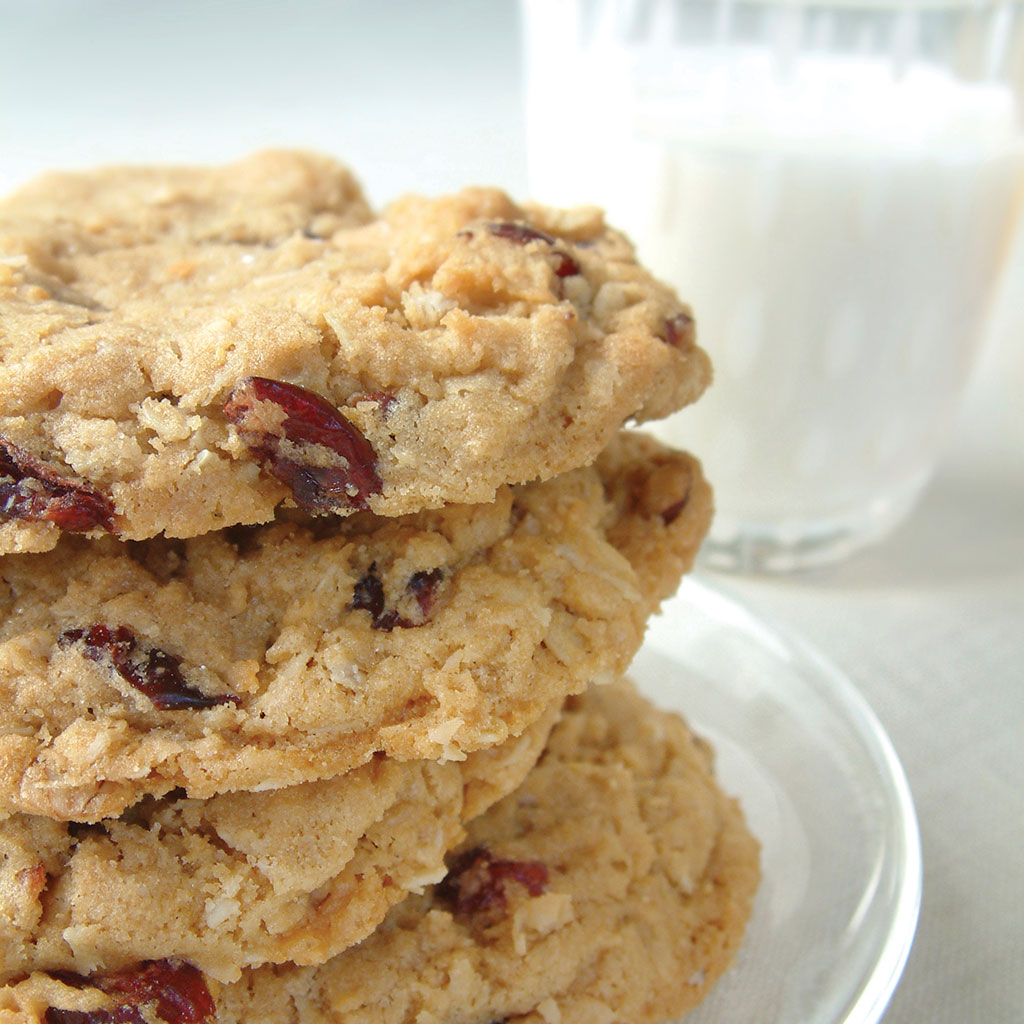 White Chocolate, Cranberry and Macadamia Cookies